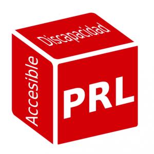 Icono aplicación móvil Discapacidad, PRL Accesible