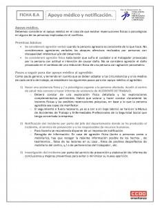 Ficha 8 Apoyo medico y notificacion